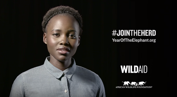 Lupita Nyongo for WildAid